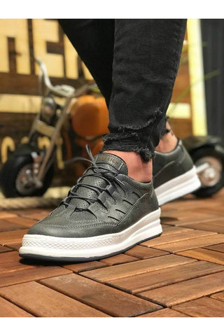Image of Men's Anthracite Casual Shoes
