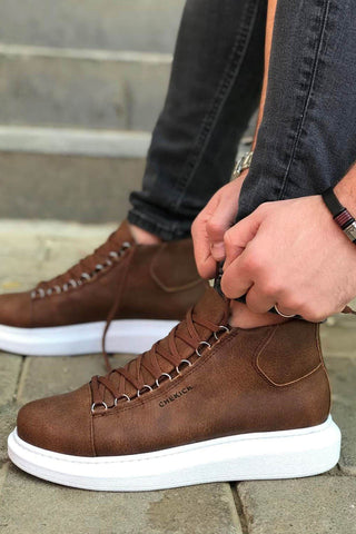 Image of Men's Lace-up Ginger Boots