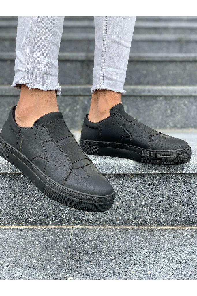 Men's Casual Black Shoes