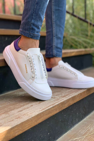 Image of Men's White Casual Shoes