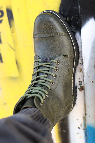 Image of Men's Lace-up Khaki Boots