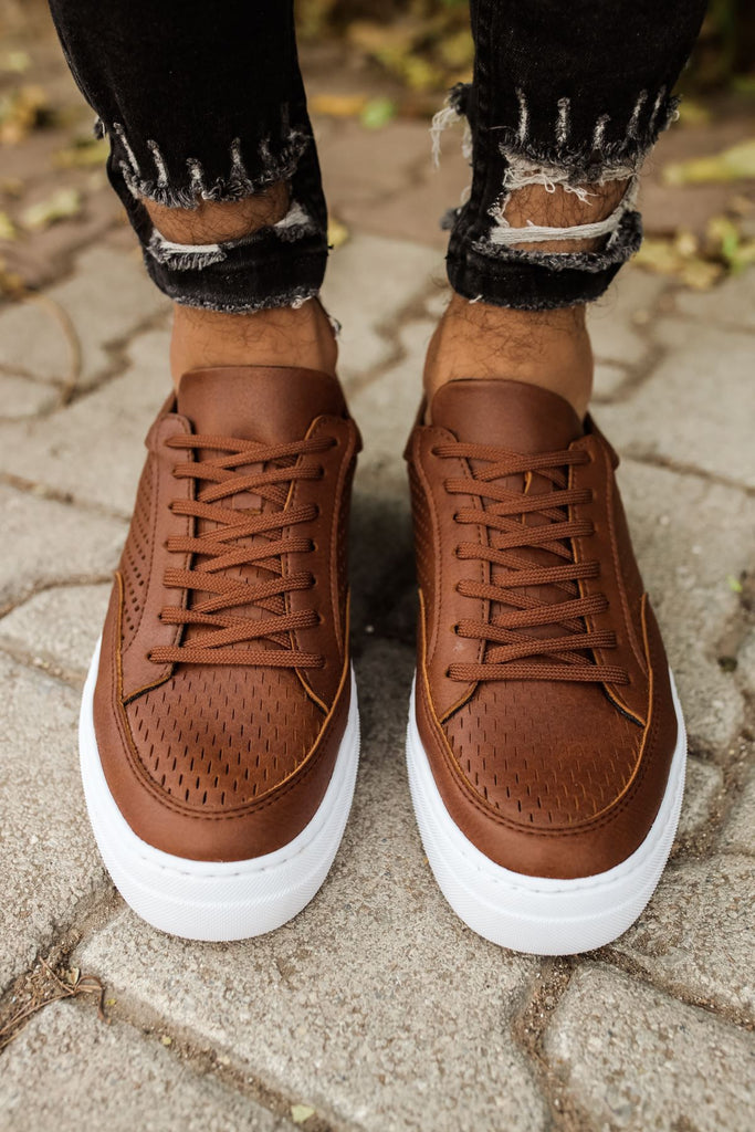Men's Lace-up Ginger Shoes