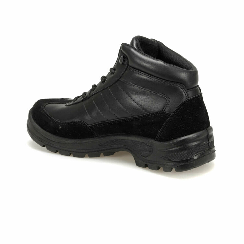 Men's Lace-up Black Boots