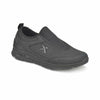 Black Dark Grey Men's Walking Shoes