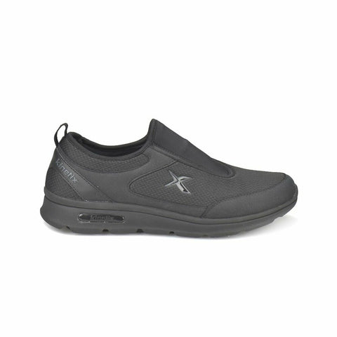 Image of Black Dark Grey Men's Walking Shoes