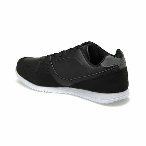 Image of Men's Lace-up Black Sneakers