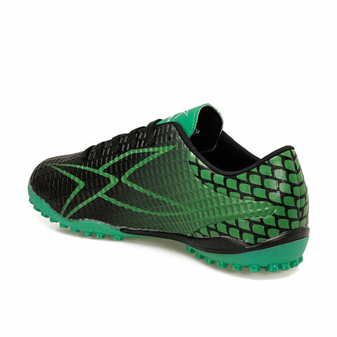 Image of Men's Black Green Football Shoes