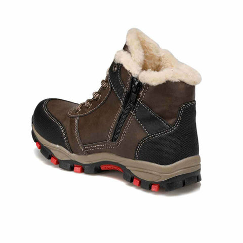 Boy's Brown Outdoor Shoes