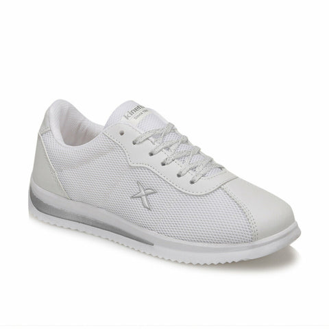 Image of Women's Lace-up White Sneakers