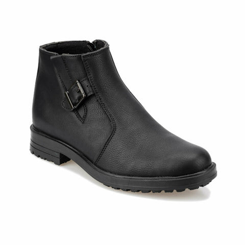 Image of Men's Zipped Black Boots