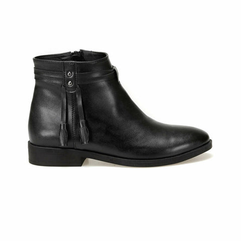 Women's Black Casual Boot