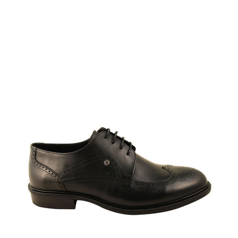 Image of Men's Black Leather Classic Shoes