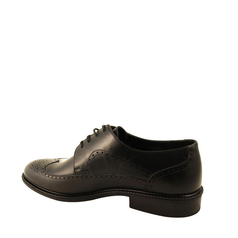Men's Black Leather Classic Shoes