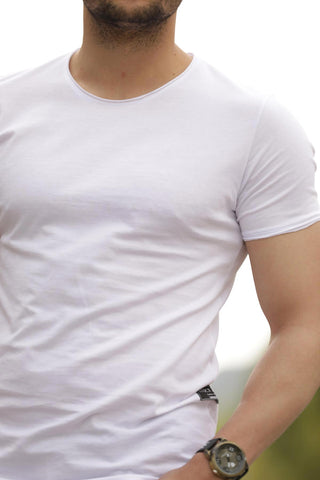 Men's Basic White T-shirt