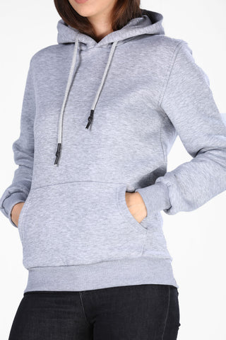 Image of Men's Hooded Grey Sweatshirt