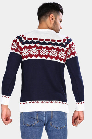 Image of Patterned Pullover