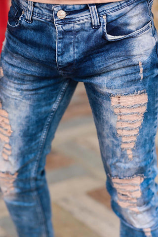 Image of Men's Ripped Pocket Pants