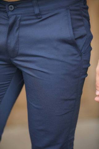 Image of Men's Navy Blue Pants