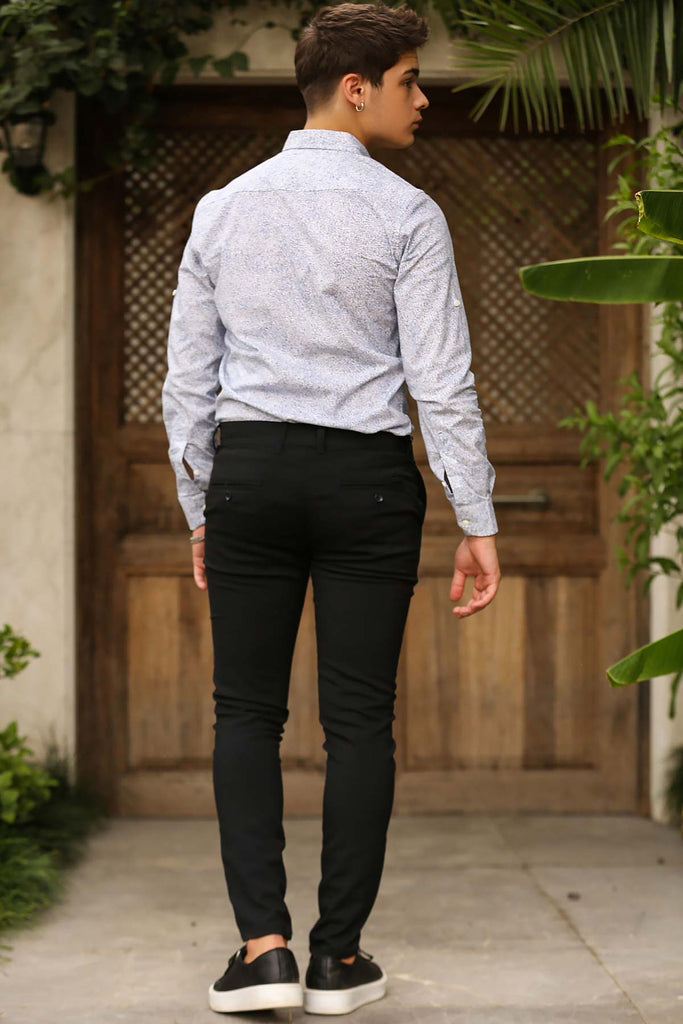 Men's Dark Navy Blue Pants