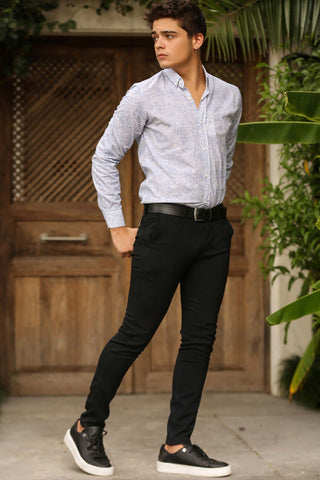 Image of Men's Dark Navy Blue Pants