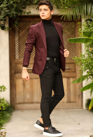 Image of Men's Black Classic Pants