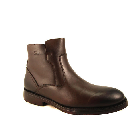 Men's Brown Leather Comfort Boots