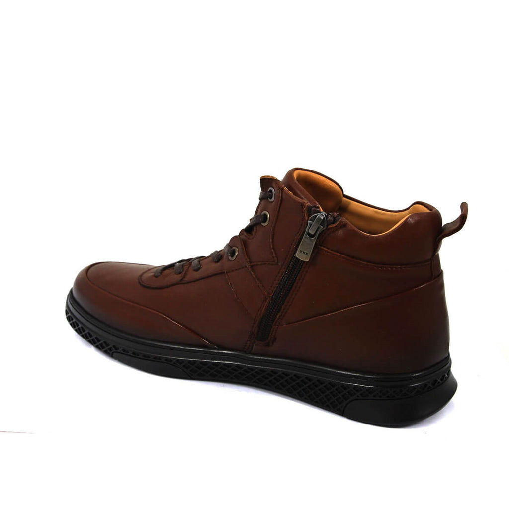 Men's Ginger Leather Boots