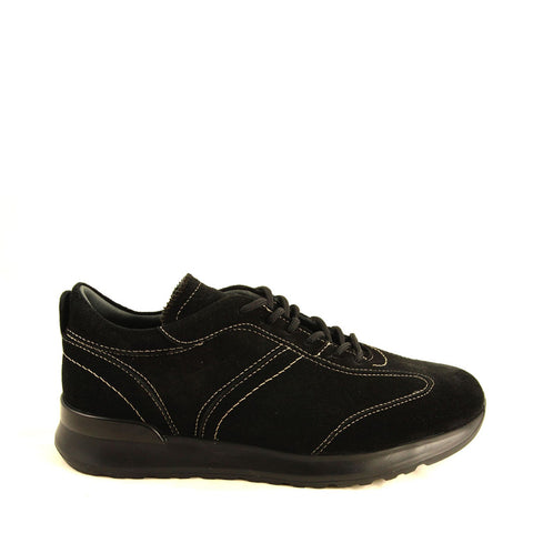 Image of Men's Black Leather- Nubuck Shoes