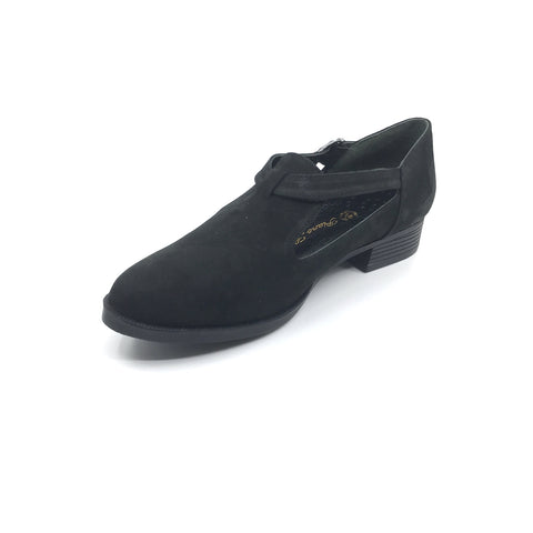 Image of Women's Black Leather Shoes