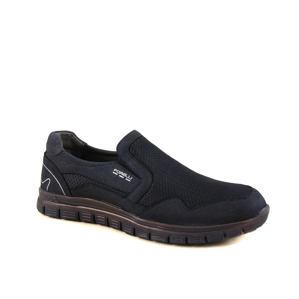 Men's Navy Blue Comfort Shoes