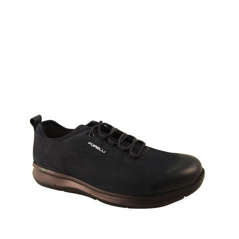 Image of Men's Navy Blue Nubuck Comfort Shoes