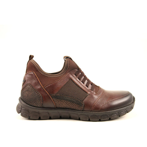 Image of Women's Brown Leather Sport Shoes