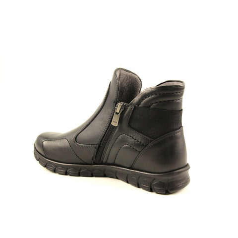 Image of Women's Black Leather Boots