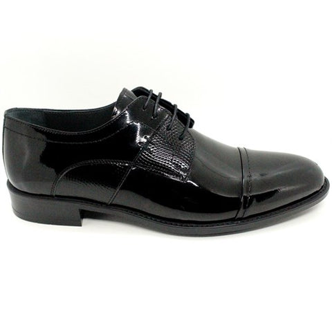 Image of Men's Black Patent Leather Classic Shoes