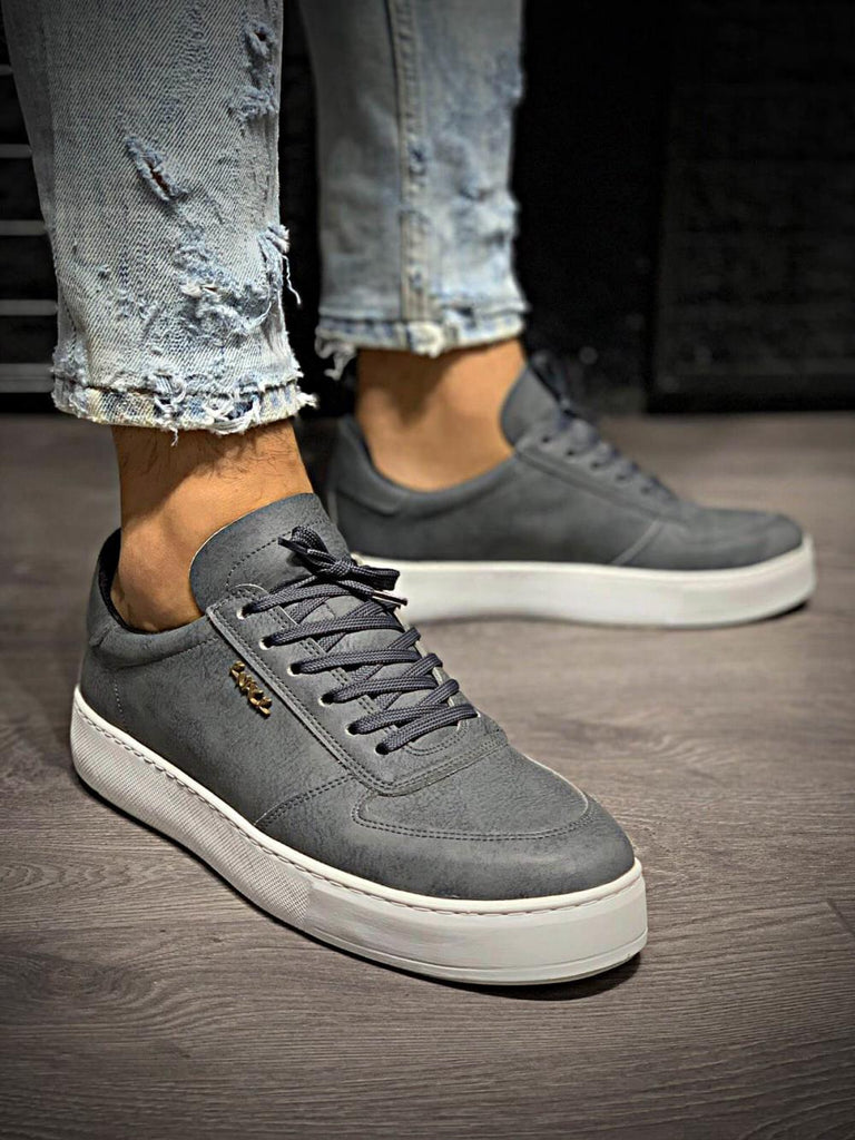 Men's Grey Casual Shoes