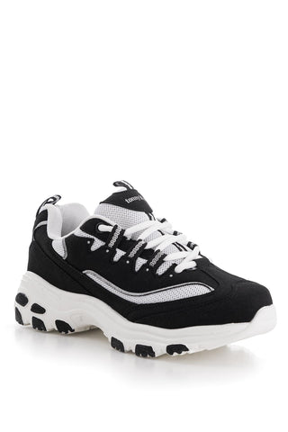 Image of Women's Black White Sport Shoes