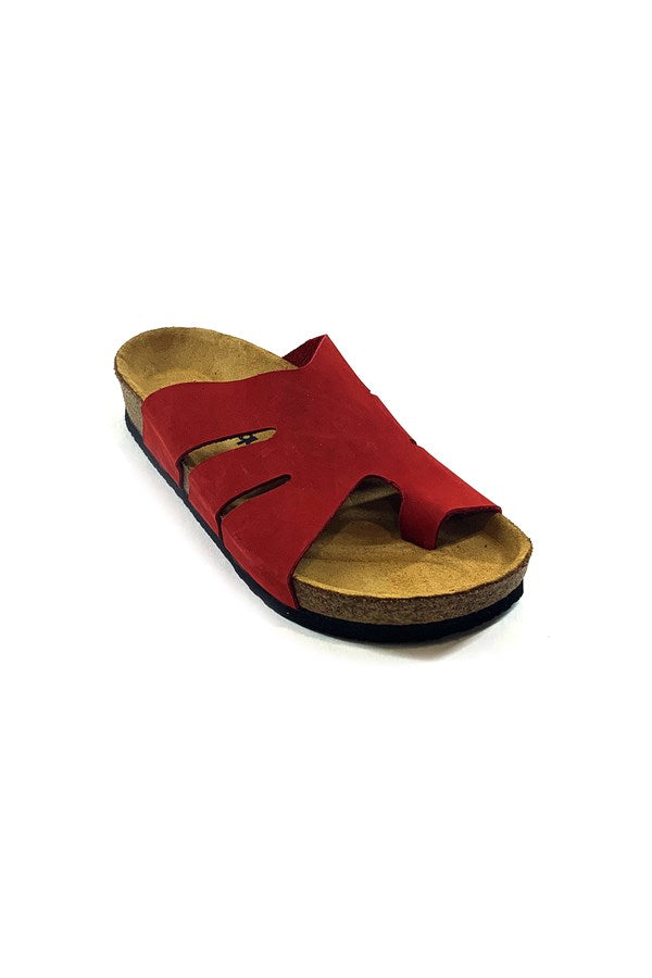 Women's Casual Red Slippers