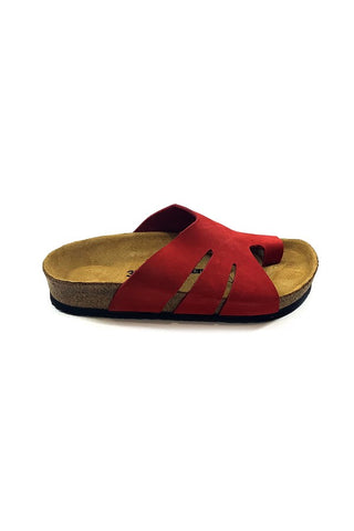 Image of Women's Casual Red Slippers