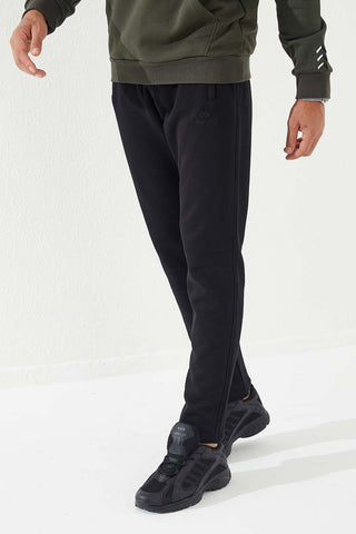 Men's Pocket Black Sport Pants