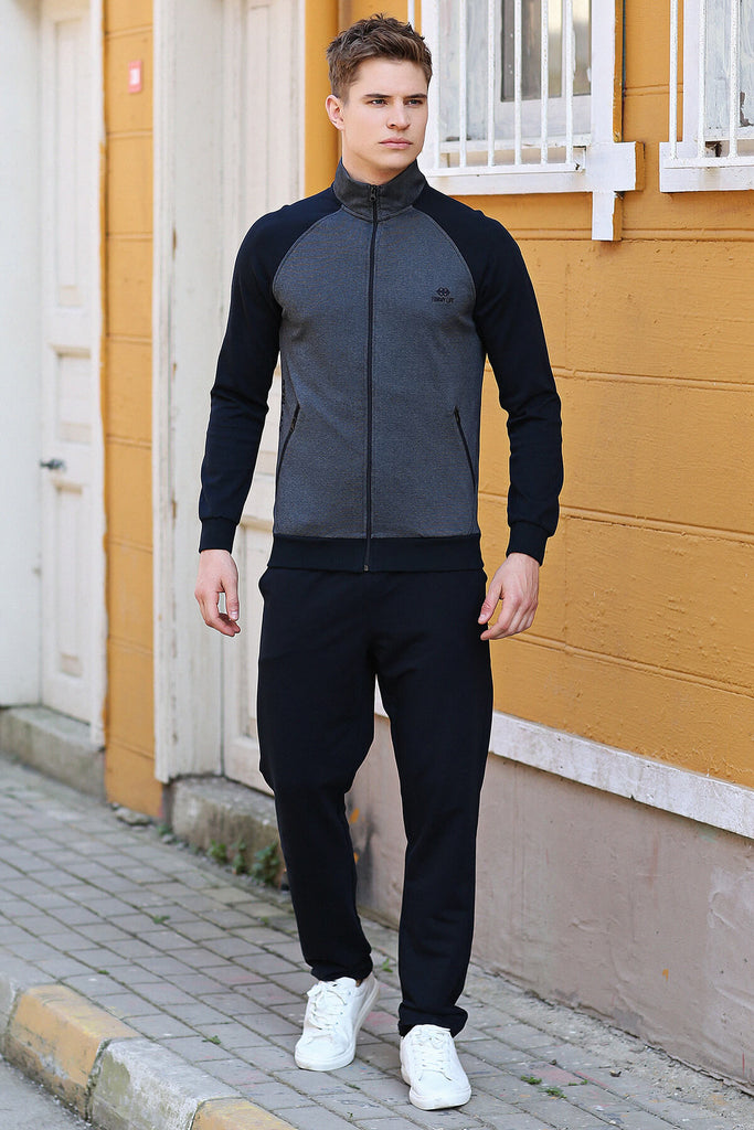 Men's Navy Blue Sweat Suit