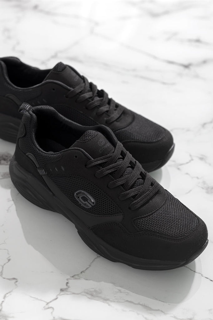 Men's Black Sport Shoes