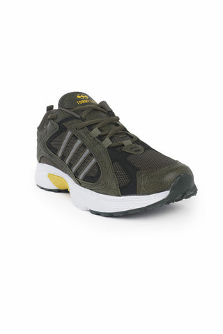 Men's Khaki- Black Sport Shoes