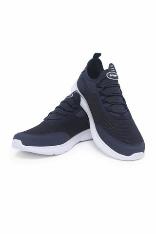 Image of Men's Navy Blue- White Sport Shoes