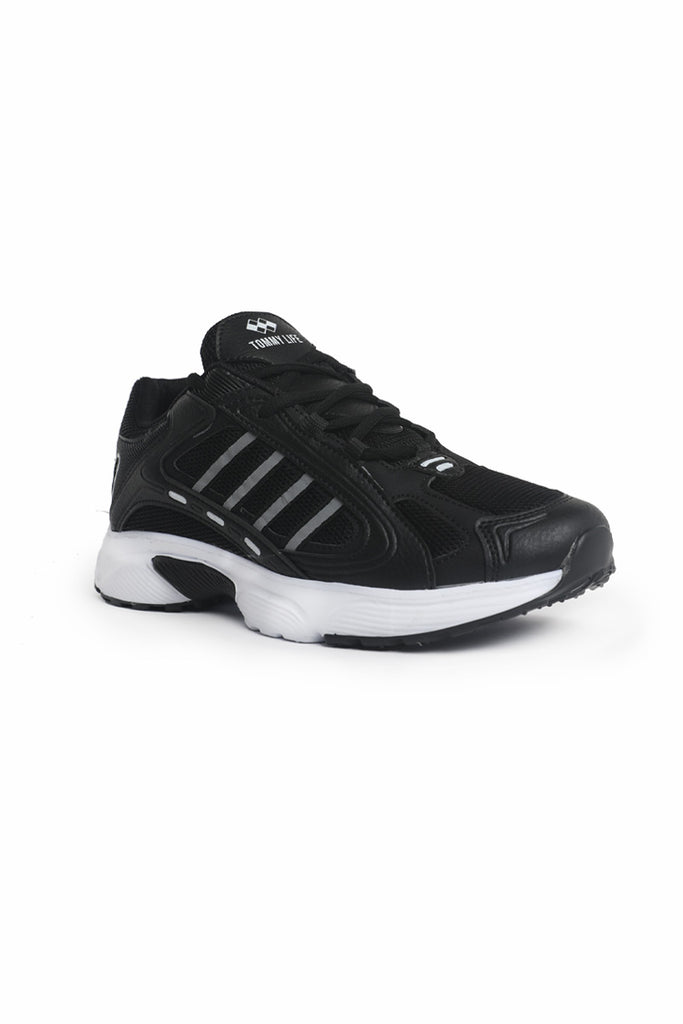 Men's Black White Sport Shoes