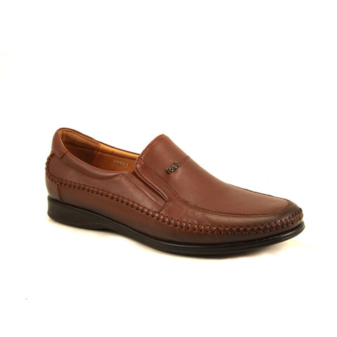 Image of Men's Ginger Leather Comfort Shoes