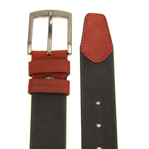 Image of Men's Buckle Black Belt