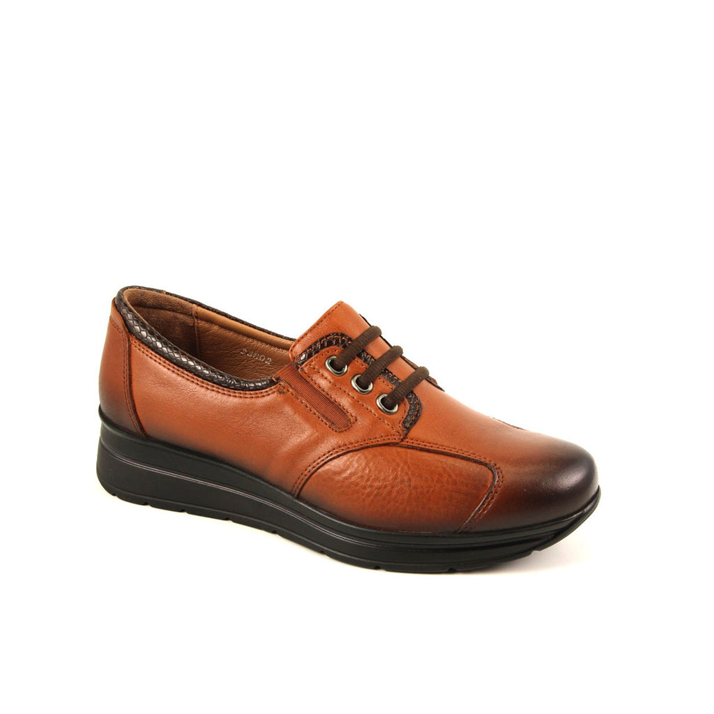 Women's Ginger Leather Shoes