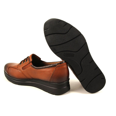 Image of Women's Ginger Leather Shoes