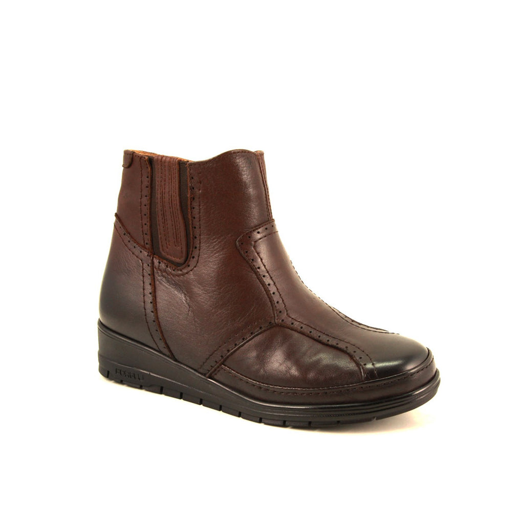 Women's Brown Leather Boots