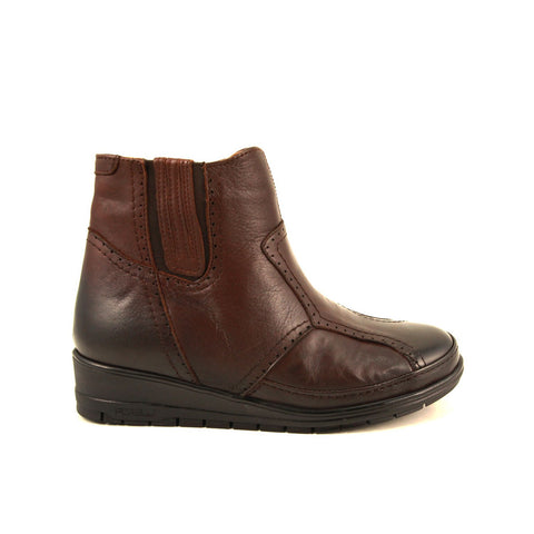 Image of Women's Brown Leather Boots